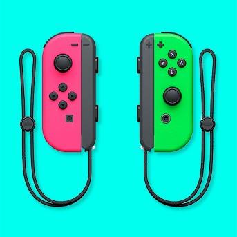 Nintendo Switch Joy-Con L/R - Neon Pink/Neon Green