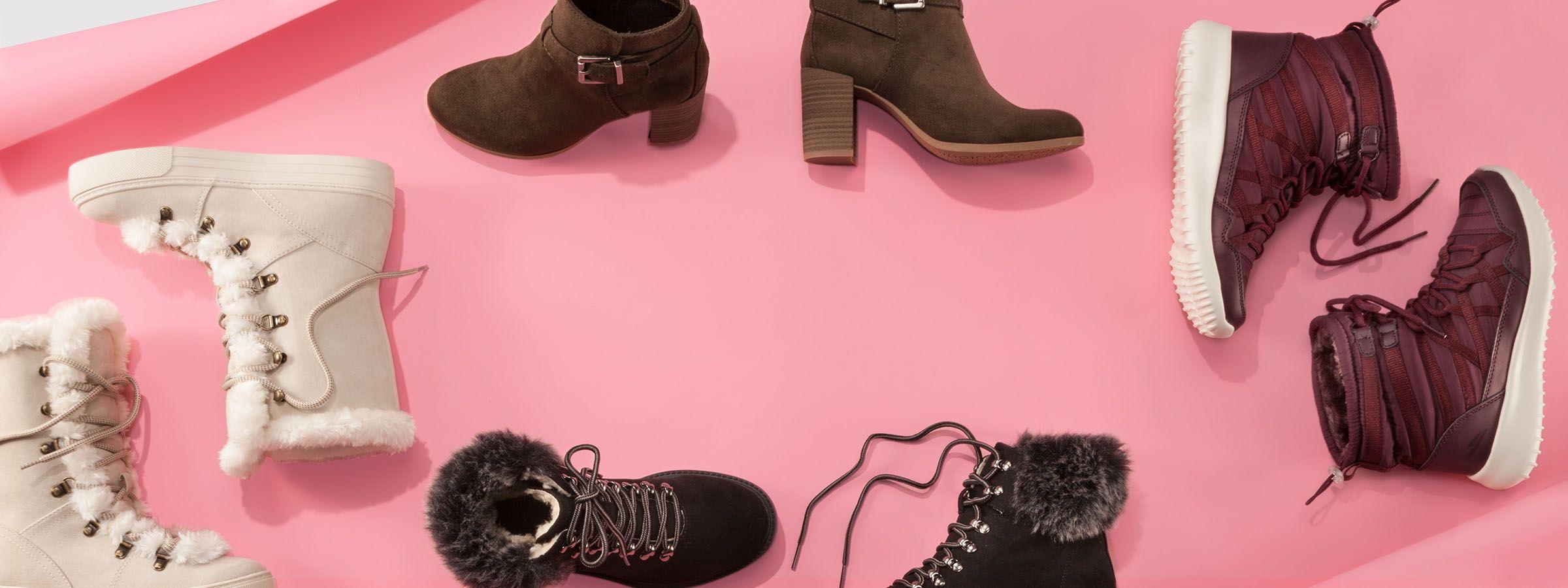 12a57196555 Go cozy-chic. Women s boots