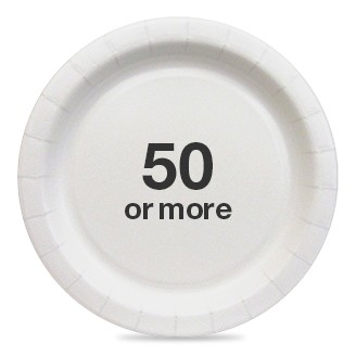 50 or more  sc 1 st  Target & paper plates : Target