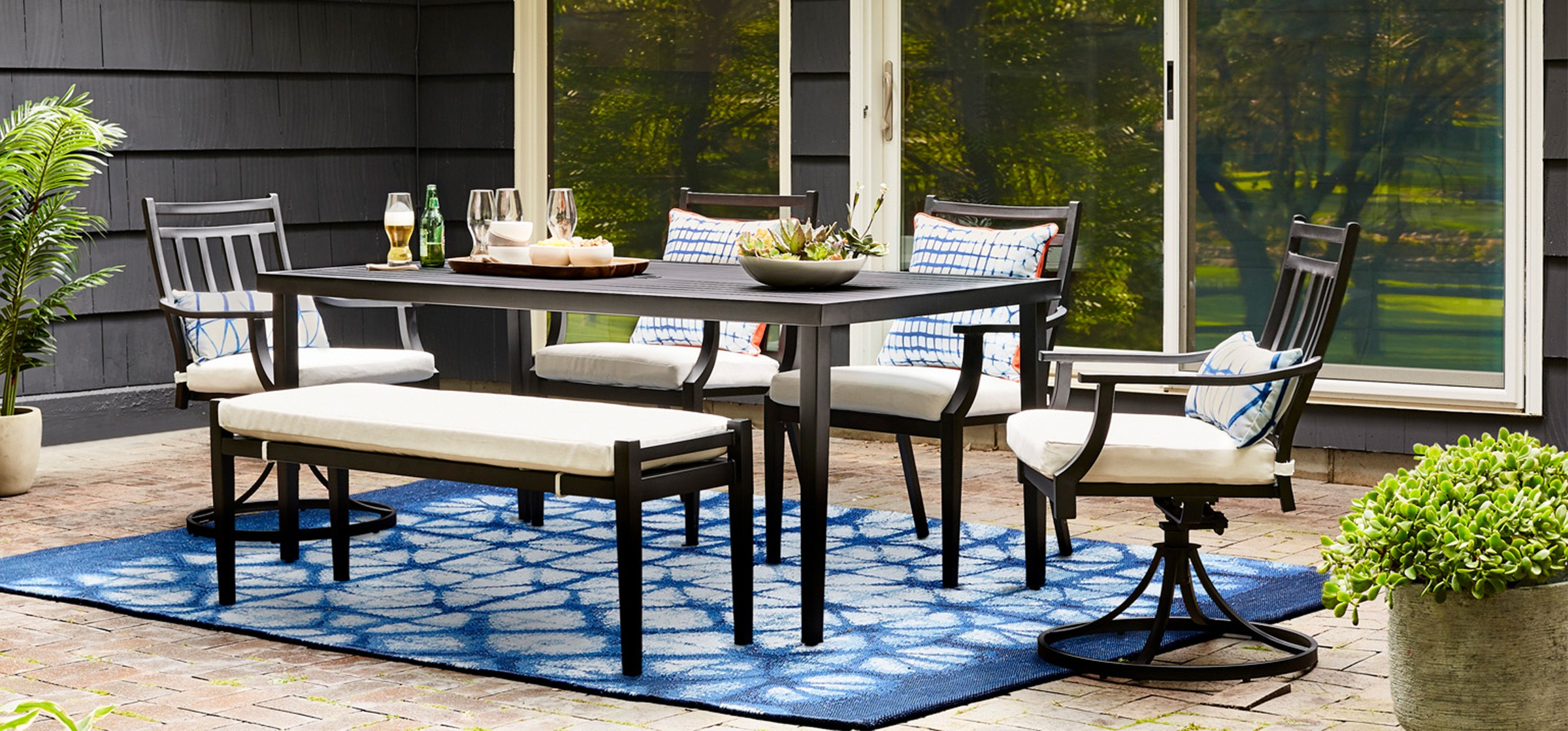 Wicker Casual Traditional Outdoor Living Tar