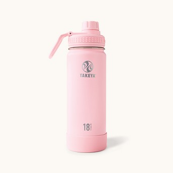 Takeya Actives 32oz Insulated Stainless Steel Water Bottle with Insulated Spout Lid