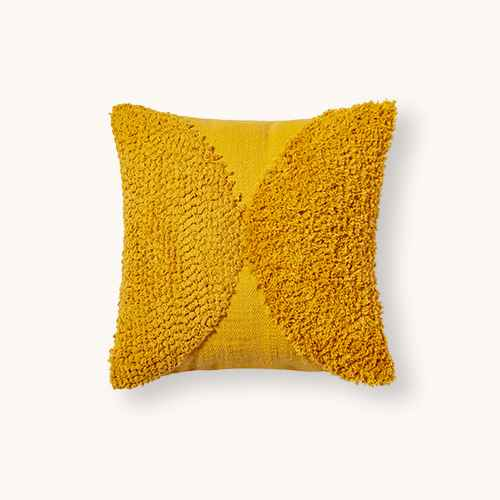 Tufted Half Circle Square Throw Pillow - Project 62™