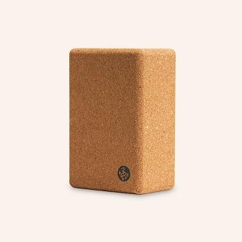 Manduka® Cork Yoga Block - Light Brown