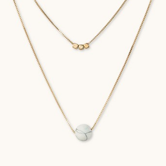Bead Duo Necklace - Universal Thread™
