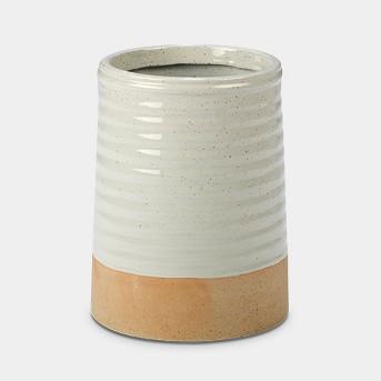 Certified International Artisan Ceramic Utensil Holder 9.5