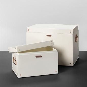 Storage Box Cream - Hearth & Hand™ with Magnolia