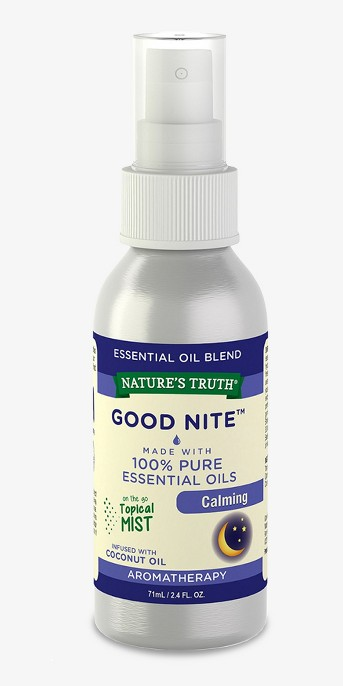 Nature's Truth Good Nite Calming Mist Aromatherapy Essential Oil Blend - 2.4 fl oz