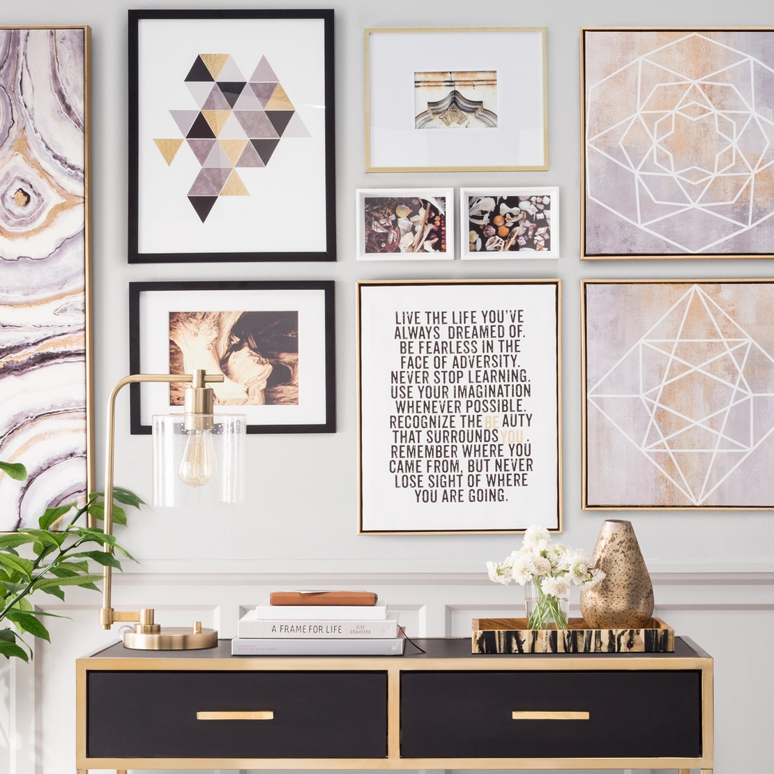 Gallery Wall Photos gallery wall ideas : target
