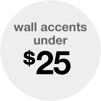 wall accents under 25
