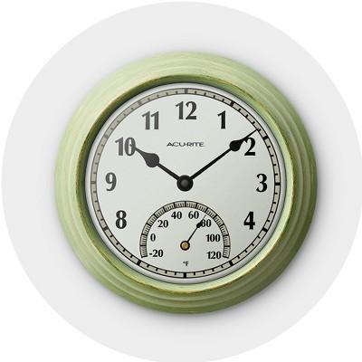 Outdoor Clocks Target