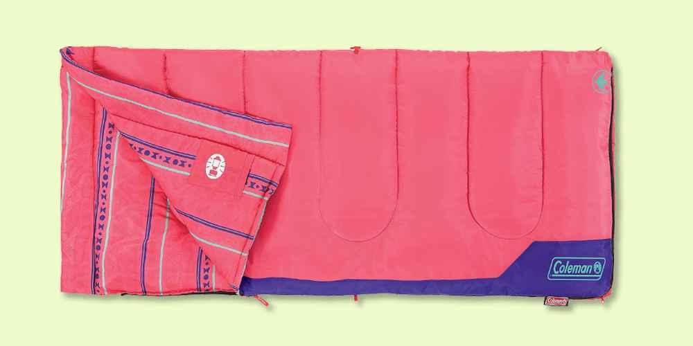 Coleman Kids' 50 Degree Sleeping Bag - Pink