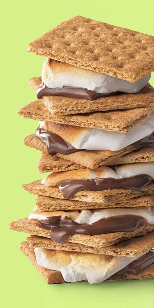 Honey Maid  Honey Graham Crackers - 14.4oz, Hershey's Milk Chocolate Bar - 6ct, Kraft Jet-Puffed S'moreMallows Marshmallows - 21oz