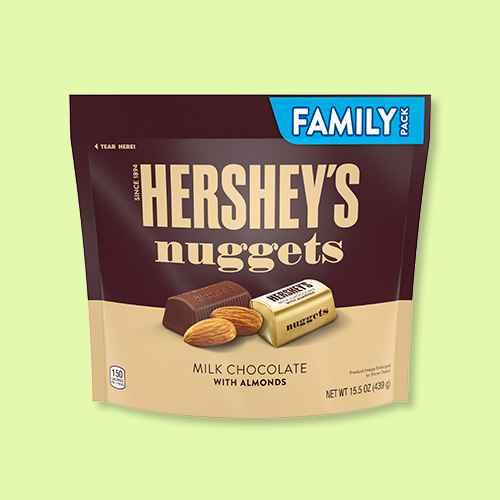 Hershey's Milk Chocolate with Almonds Nuggets - 15.5oz