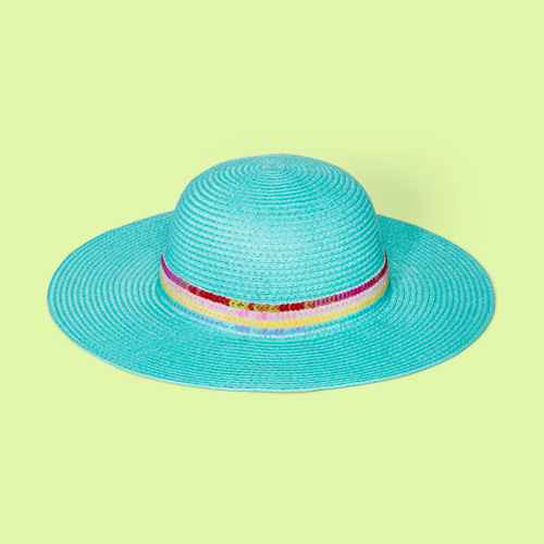 Girls' Sequin Band Floppy Hat - Cat & Jack™ Green