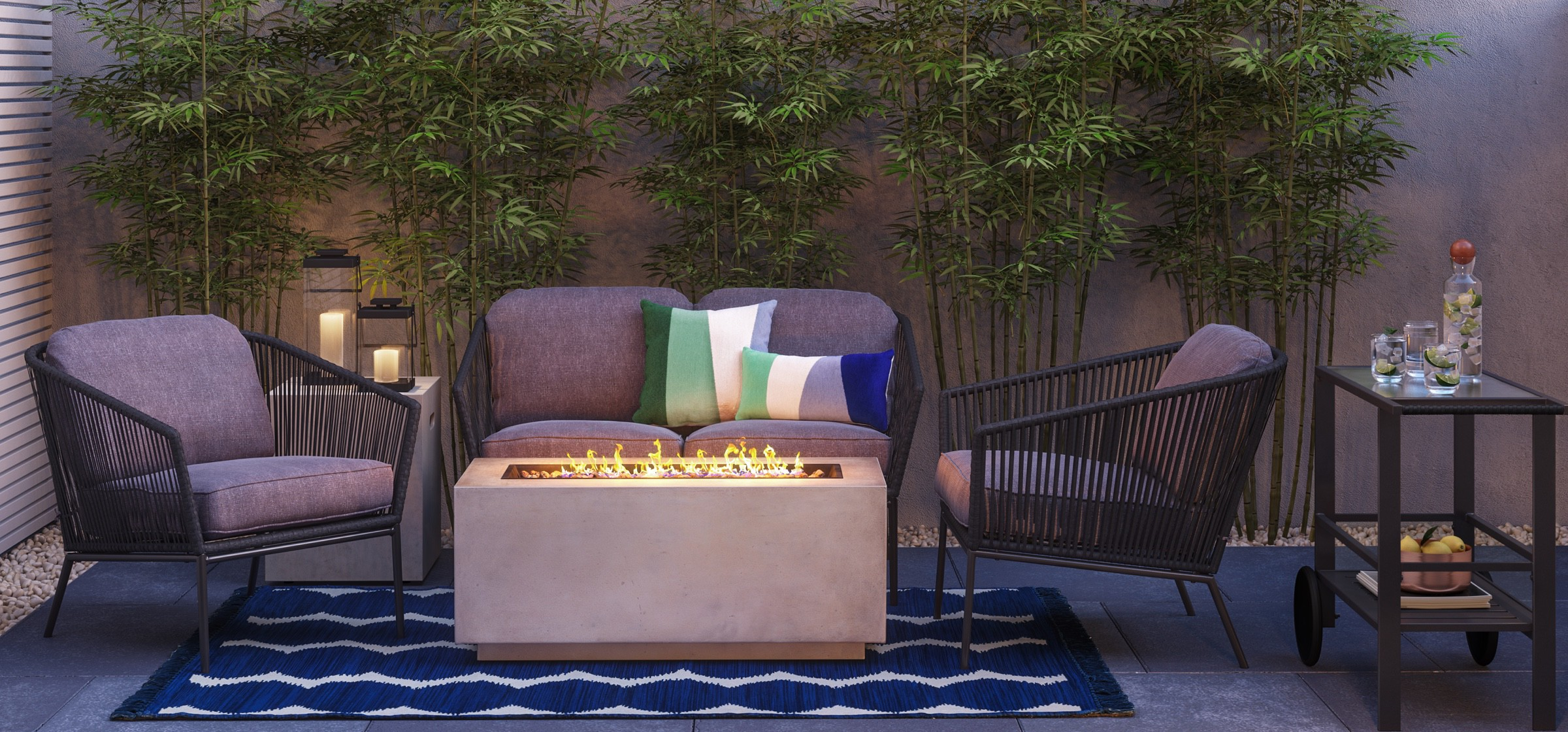 Modern Outdoor Living Tar