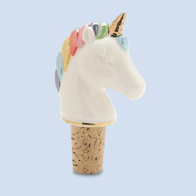 Enesco Magical Unicorn 3.5-Inch Stoneware Bottle Stopper