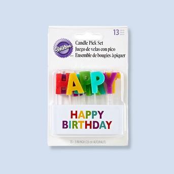 Wilton Happy Birthday Set - 13ct