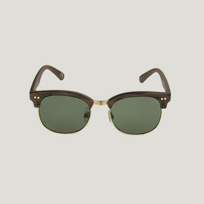 Men's Circle Sunglasses - Goodfellow & Co™ Brown