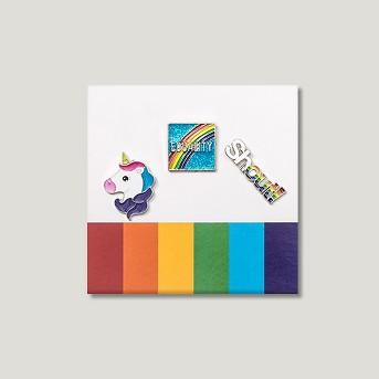 Pride Unicorn Pins - 3pk