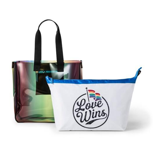 Pride Love Wins Tote Handbag