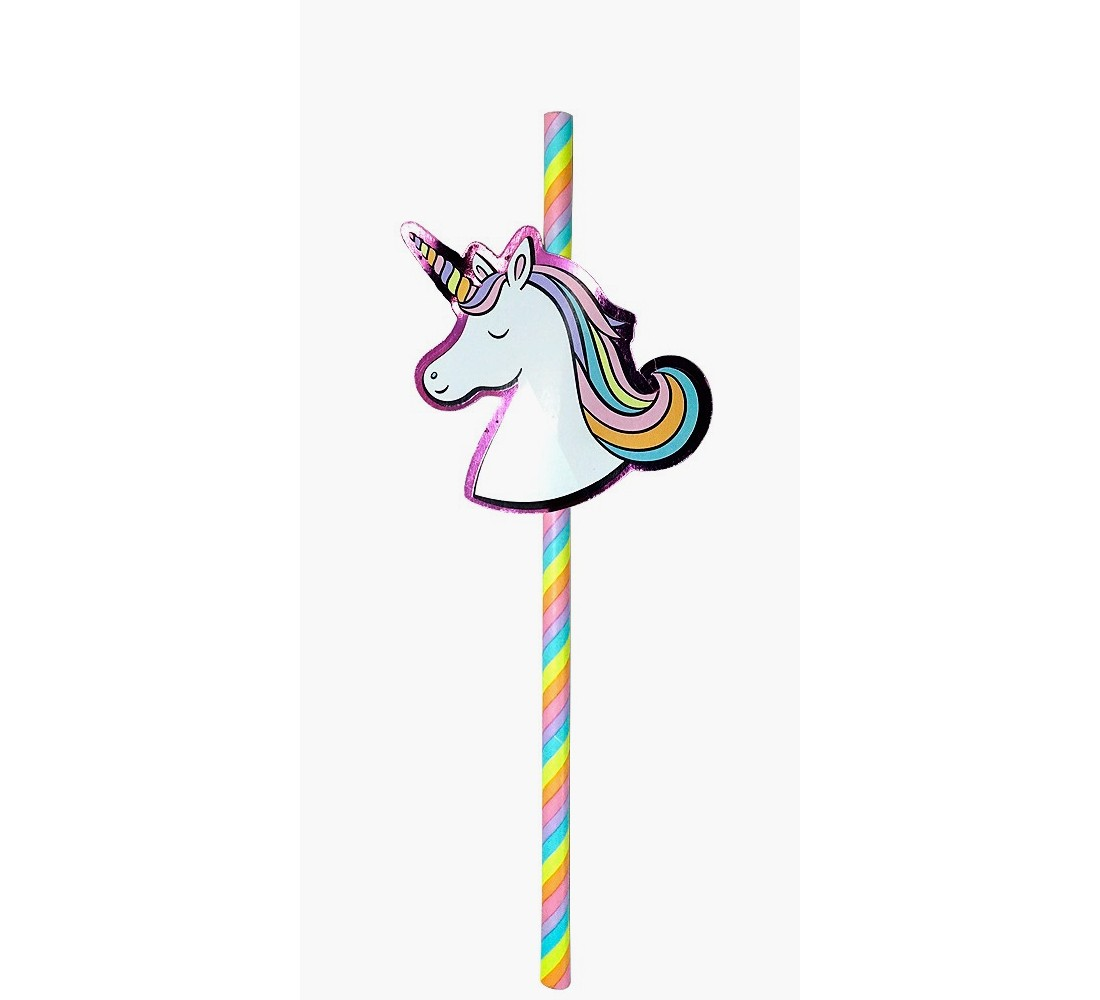 20 ct Unicorn Straws - Spritz™