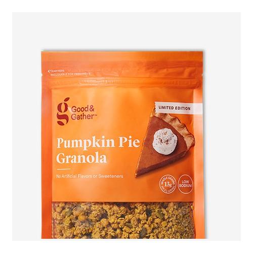 Pumpkin Pie Granola - 12oz - Good & Gather™, Vanilla Bean Granola - 12oz - Good & Gather™, Cinnamon Granola - 12oz - Good & Gather™, Apple Streusel Granola - 12oz - Good & Gather™
