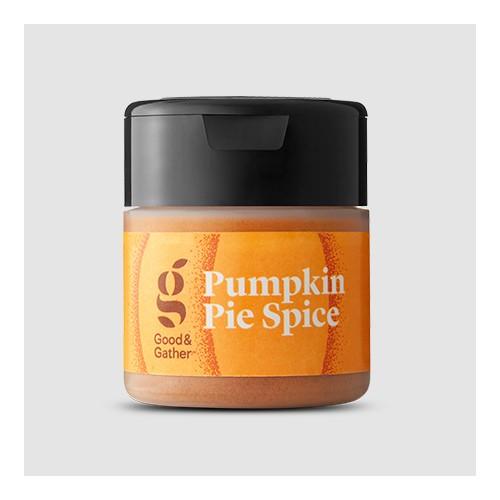 Pumpkin Pie Spice - 0.75oz - Good & Gather™, Ground Nutmeg - 0.9oz - Good & Gather™, Allspice - 0.65oz - Good & Gather™, Ground Ginger - 0.7oz - Good & Gather™, Ground Cinnamon - 4.1oz - Good & Gather™