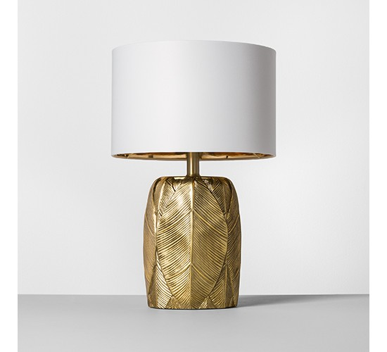 Leaf Table Lamp Gold - Opalhouse™
