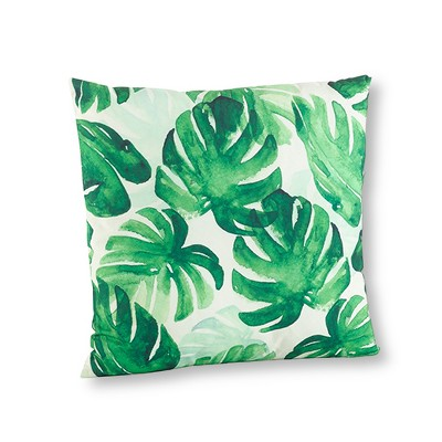 "Green Throw Pillow (18"") - Saro Lifestyle®"