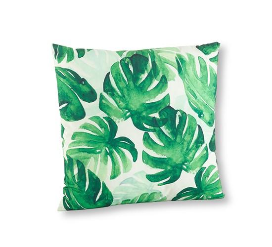 Green Throw Pillow (18