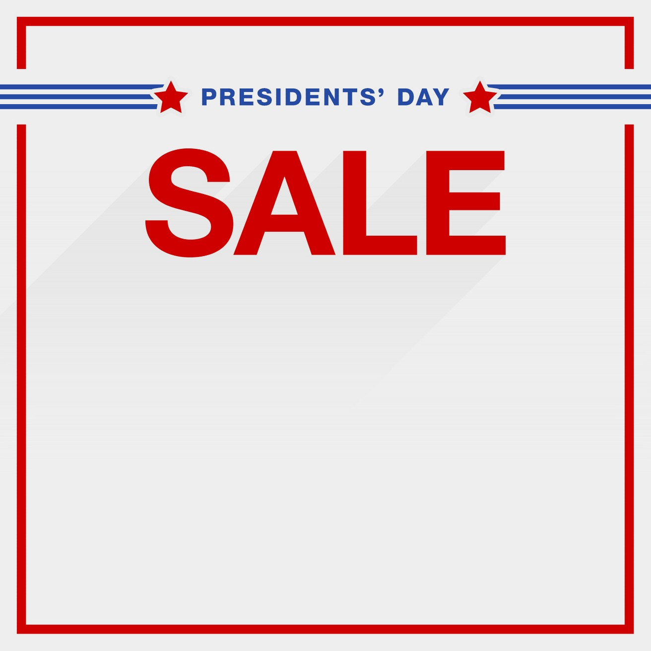Presidents Day Ads. We don't have any Presidents Day ads or print ads for this year yet, but check back in the weeks prior to Presidents Day when we will have the latest print ads available.