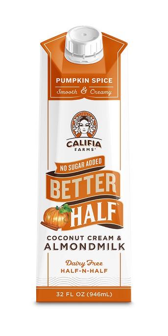 Califia Farms Pumpkin Spice Half-N-Half - 1qt