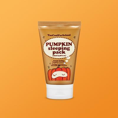 too cool for school Pumpkin Sleeping Pack - 100ml