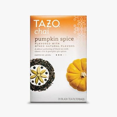 Tazo Chai Pumpkin Spice Tea - 20ct