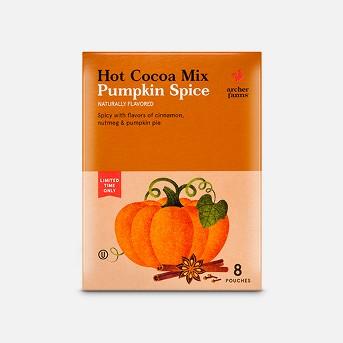 Hot Cocoa Mix Pumpkin Spice 8ct - Archer Farms™