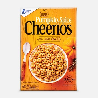 Cheerios Pumpkin Breakfast Cereal - 10.8oz - General Mills