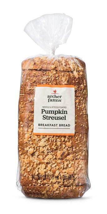 Archer Farms Pumpkin Spice Breakfast Bread