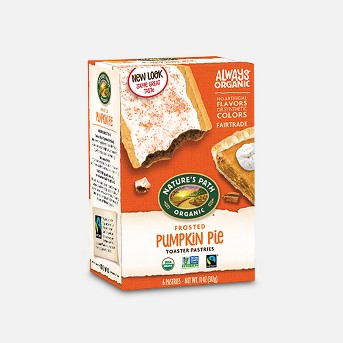 Nature's Path Pumpkin Pie Toaster Pastry - 6ct/11oz