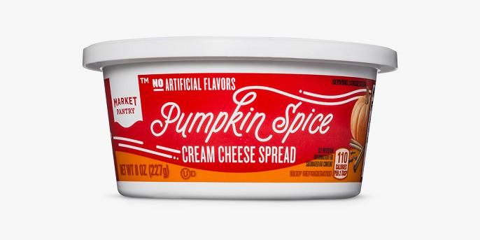 Pumpkin Spice Flavored Cream Cheese Spread - 8oz - Market Pantry™