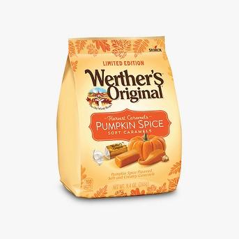 Werther's Original Halloween Pumpkin Spice Soft Caramels - 9.4oz