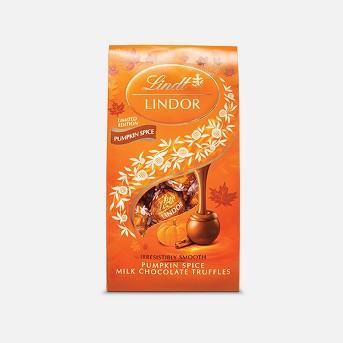 Lindor Pumpkin Spice Halloween Chocolates - 6oz