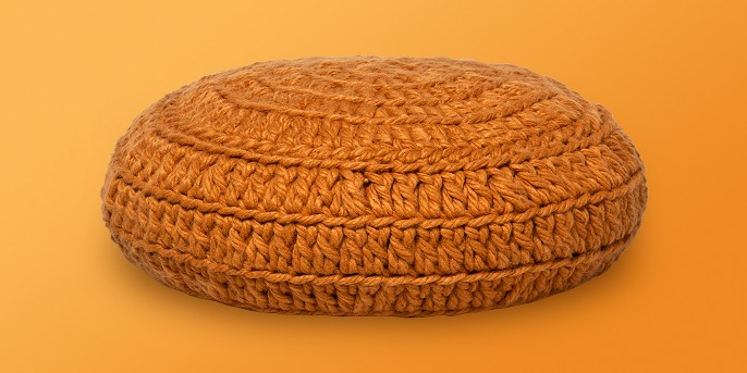 Round Hand Crochet Throw Pillow - Opalhouse™