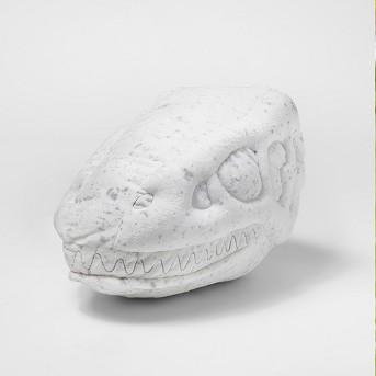 Dino Skull Throw Pillow - Pillowfort™