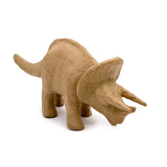 Kid Made Modern® Dinosaur Triceratops Figurine - Kraft