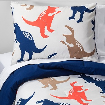 Jurassic Jams Comforter Set - Tan - Pillowfort™