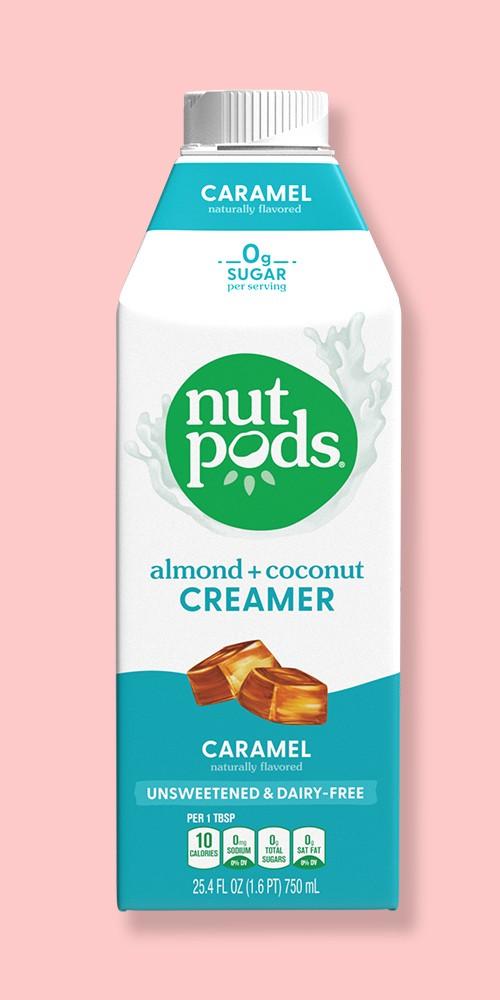 nutpods Unsweetened Caramel Creamer - 25.4 fl oz, nutpods Unsweetened French Vanilla Creamer - 25.4 fl oz, nutpods Unsweetened Hazelnut Creamer - 25.4 fl oz