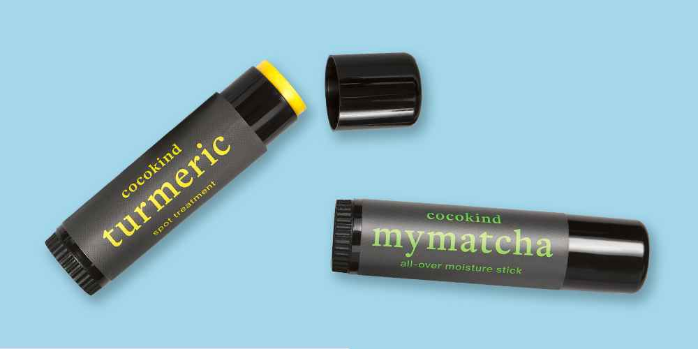 cocokind Turmeric Spot Treatment - .5oz, cocokind Mymatcha All Over Moisturizer Stick - .5oz