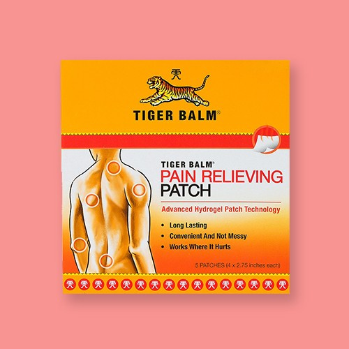 Tiger Balm Pain Relieving Patch - 5ct