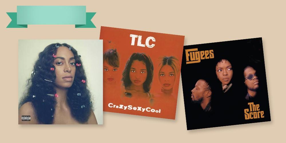 Solange - A Seat At The Table [Explicit Lyrics], TLC - Crazysexycool (Vinyl), Fugees - Score (EXPLICIT LYRICS) (CD)