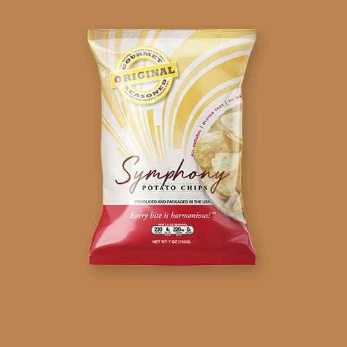 Symphony Original Gourmet seasoned All-Natural Potato Chips - 7oz